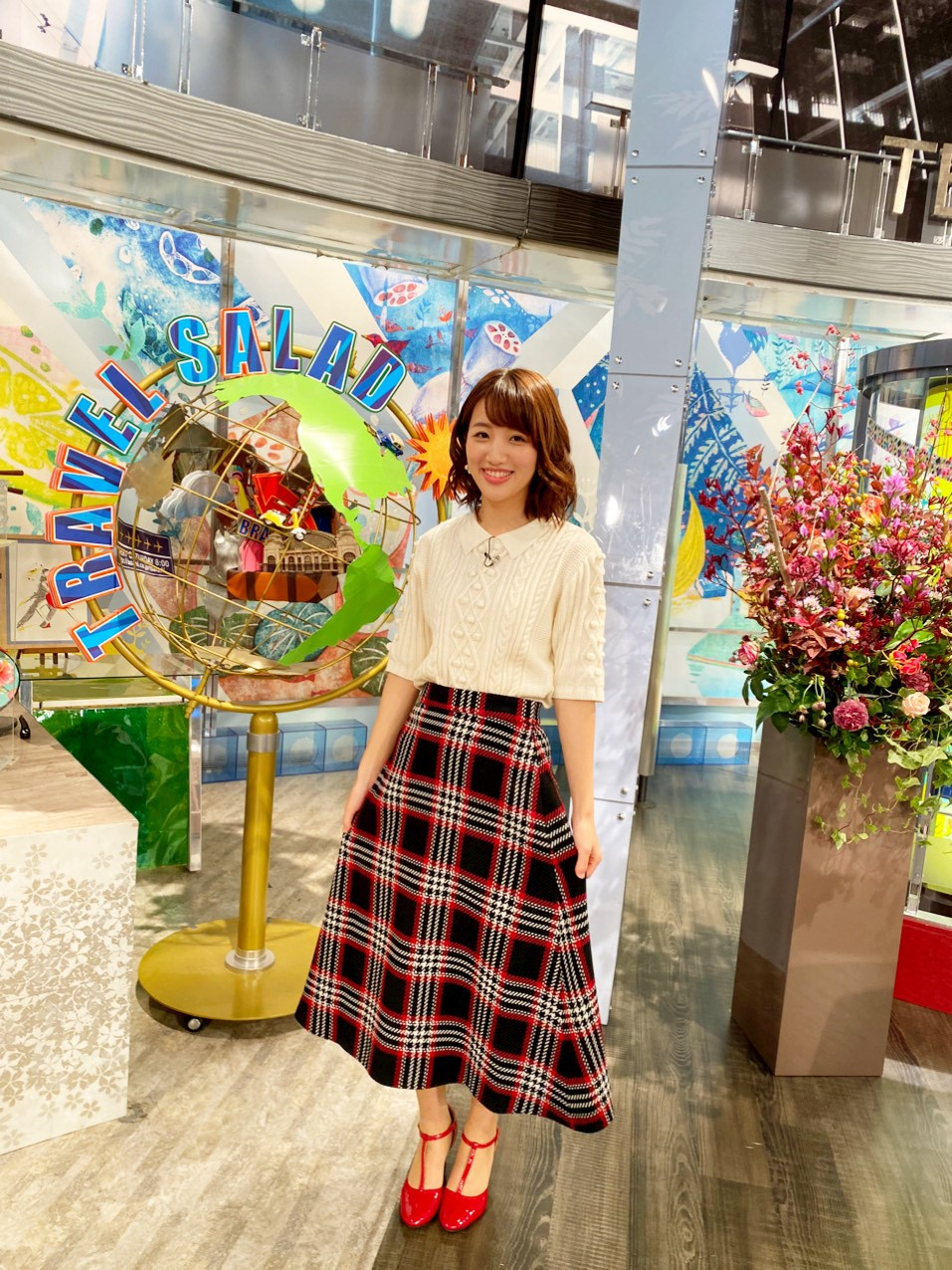 朝日放送『旅サラダ』衣装提供
